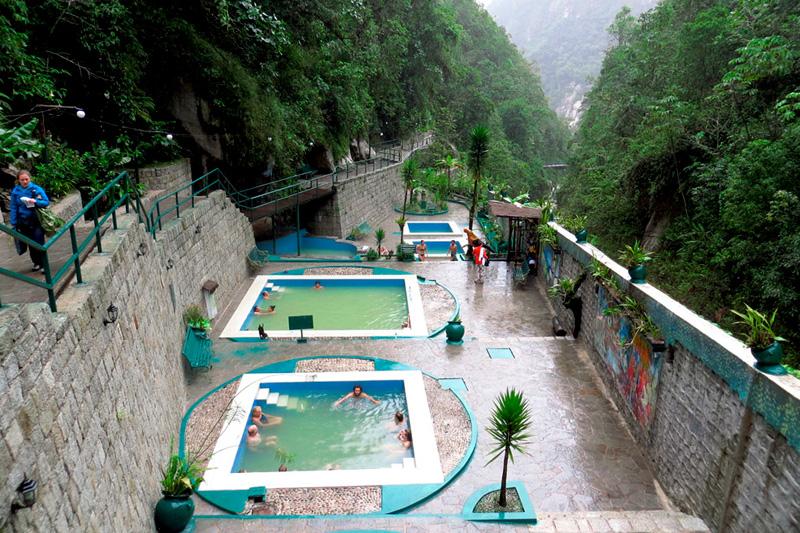 Aguas termales de Machu Picchu