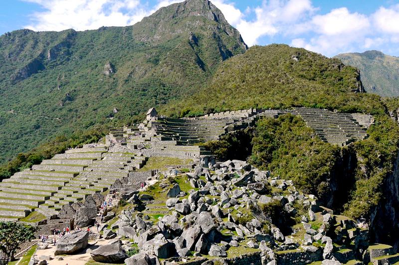 Adoratorio a la piedra Machu Picchu