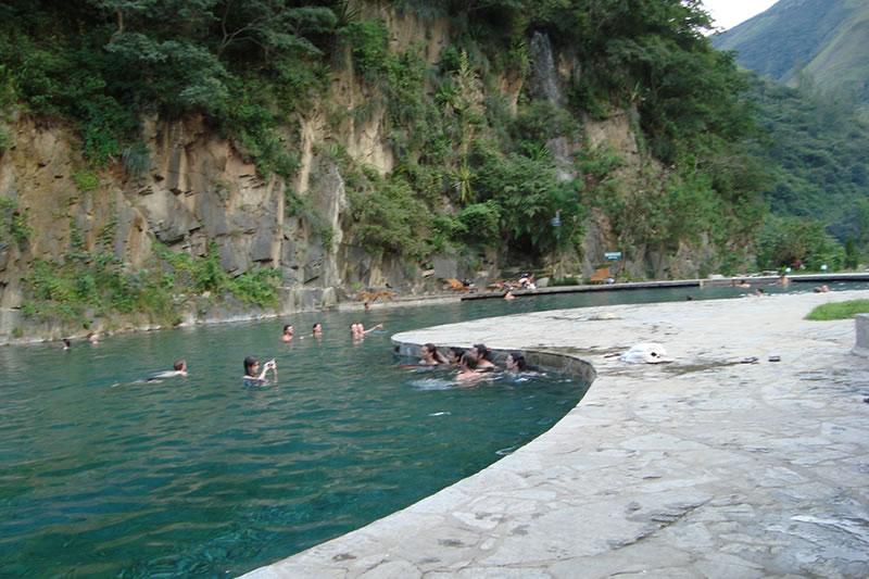aguas termales de cocalmayo Machu Picchu