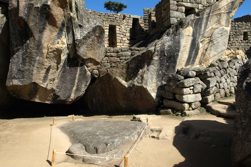templo del condor Machu Picchu