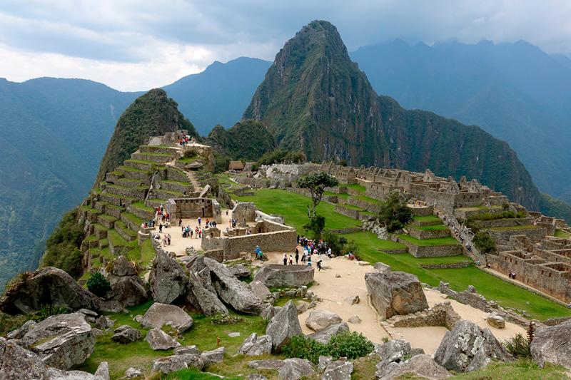 Sacred Sector Machu Picchu
