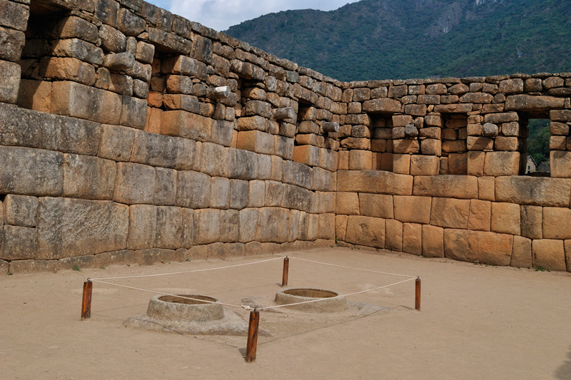Mirrors of water Machu Picchu