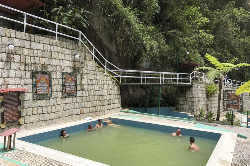 Hot Springs of Machu Picchu