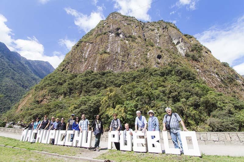 Poster della città di Machu Picchu