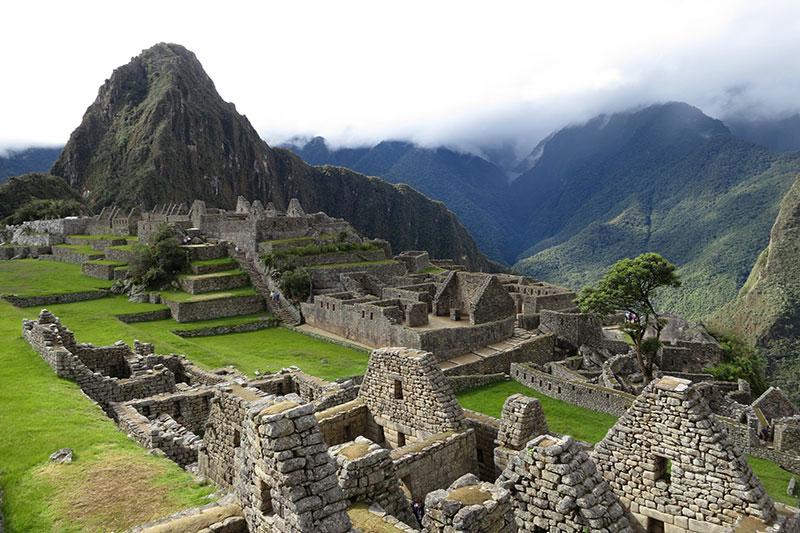 Machu Picchu altitude