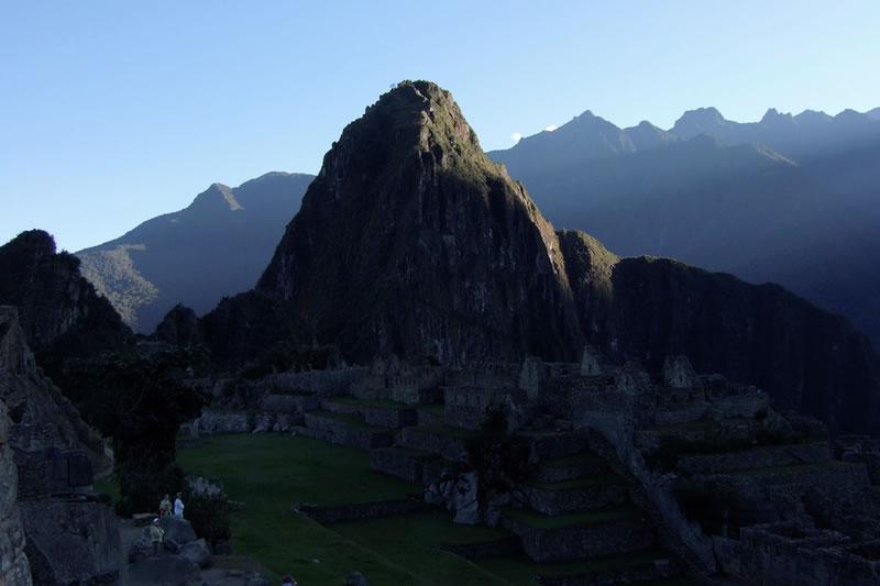 salida del sol en Machu Picchu