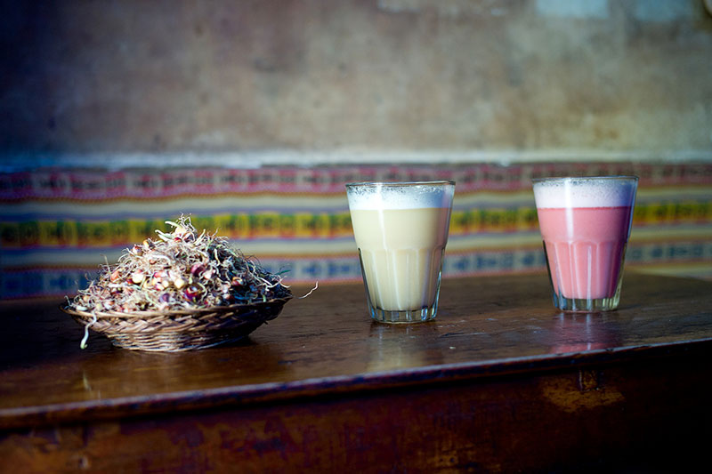 The Chicha typical drink Machu Picchu