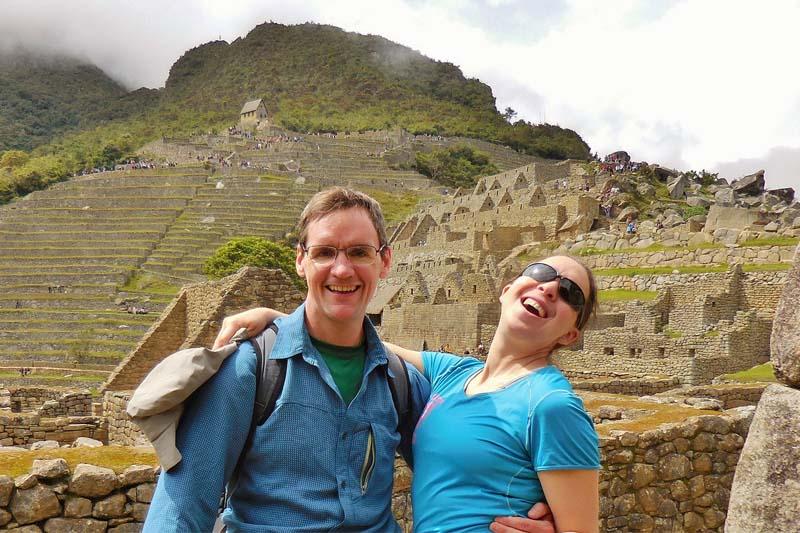 Machu Picchu zona urbana y terrazas