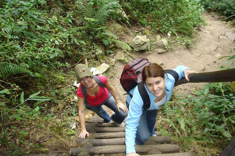 Hike to Huayna Picchu
