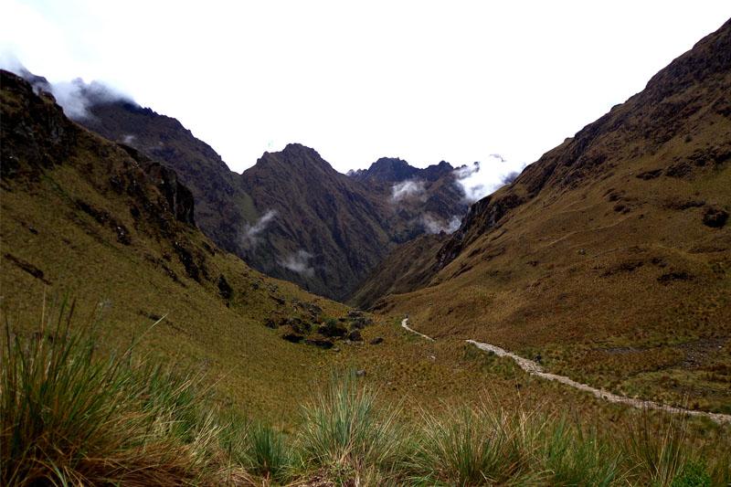 Camino Inca piasaje