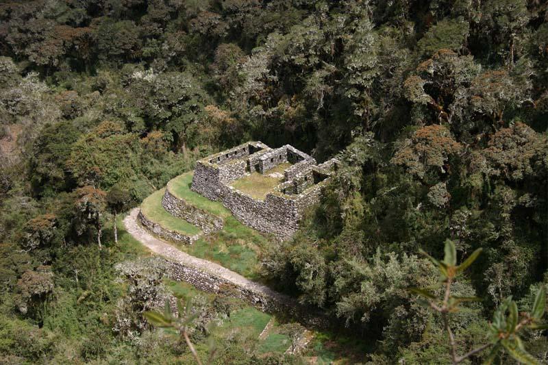 Camino Inca, restos arqueológicos