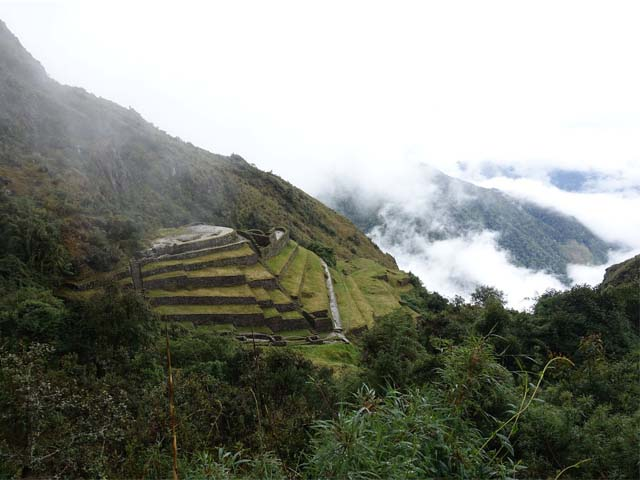 Surreal landscape of the Inca Trail