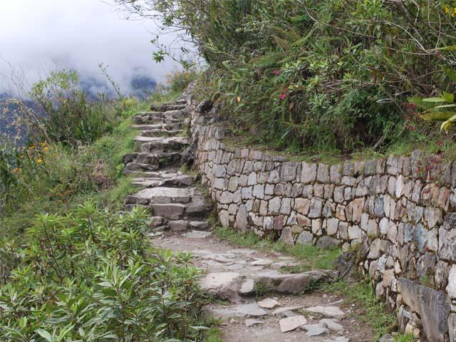 Camino conservado desde la época Inca