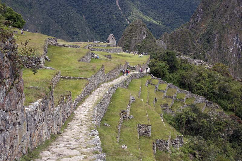 Camino Inca ingreso a Machu Picchu