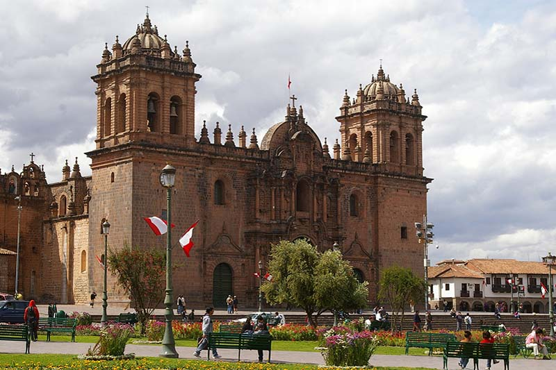 Imposing Cathedral of Cusco