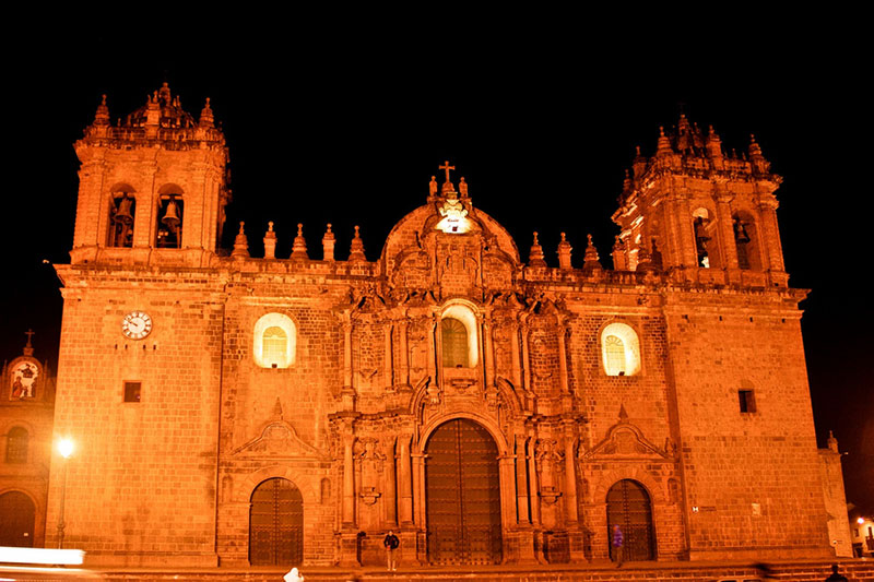 Facade of the Cathedral Cusco
