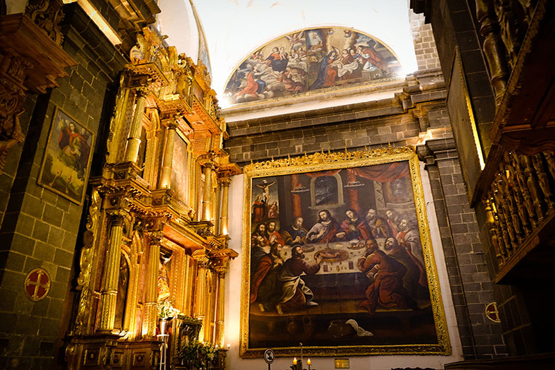 ultima cena catedral cusco