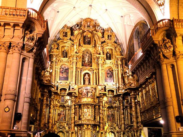 Altar mayor de la iglesia de la Compañia de Jesus