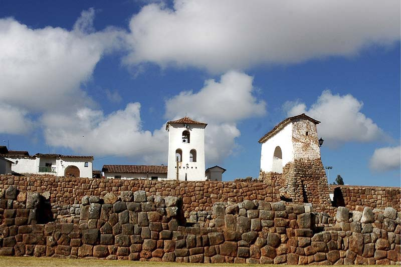 Chinchero in the Sacred Valley of the Incas