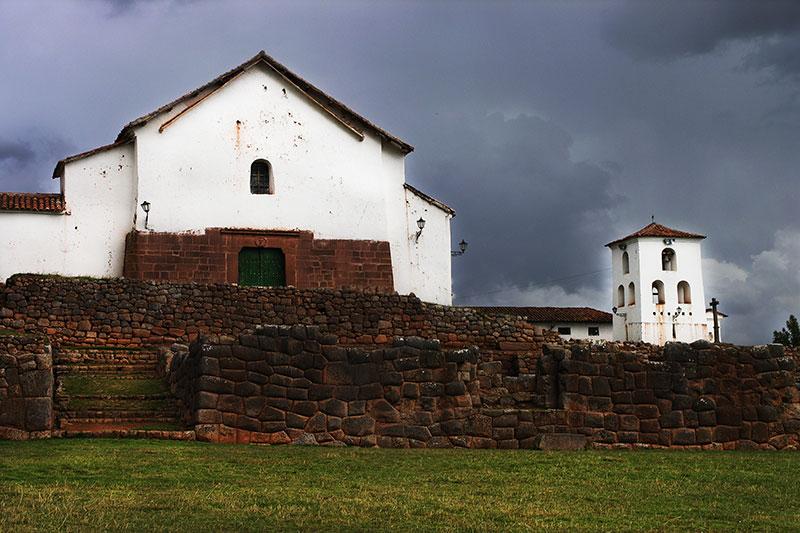 Iglesia de Chinchero en el Valle Sagrado de los Incas