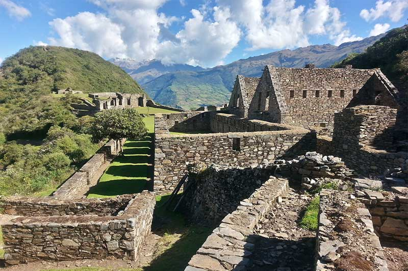 Constructions of Choquequirao