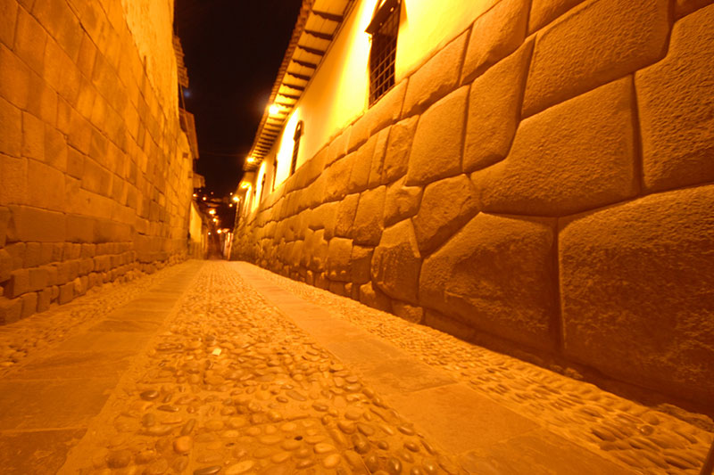 Street of the city of Cusco