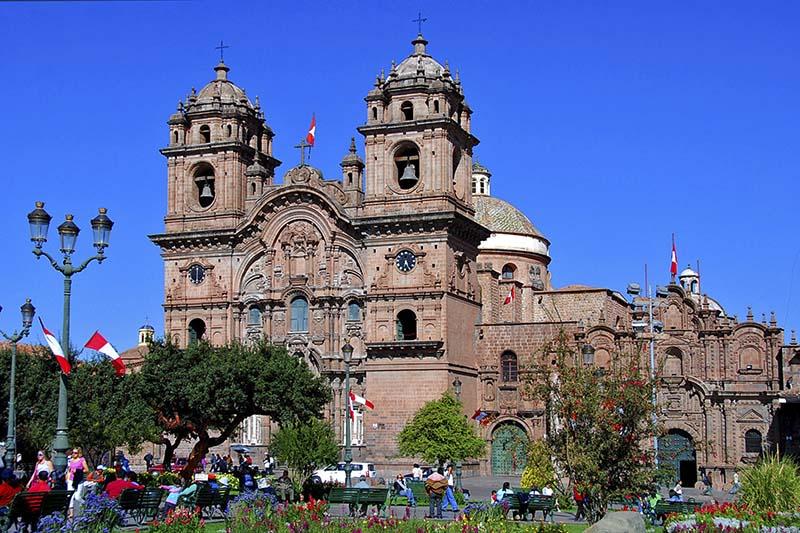 Iglesia Compañia Cusco