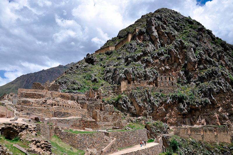Inca complex of Ollantaytambo