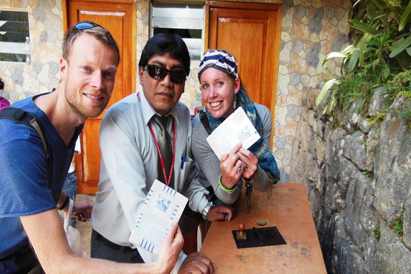 Conseguir el Sello de Pasaporte de Machu Picchu