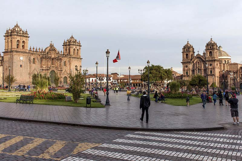 Cusco historical capital of Peru