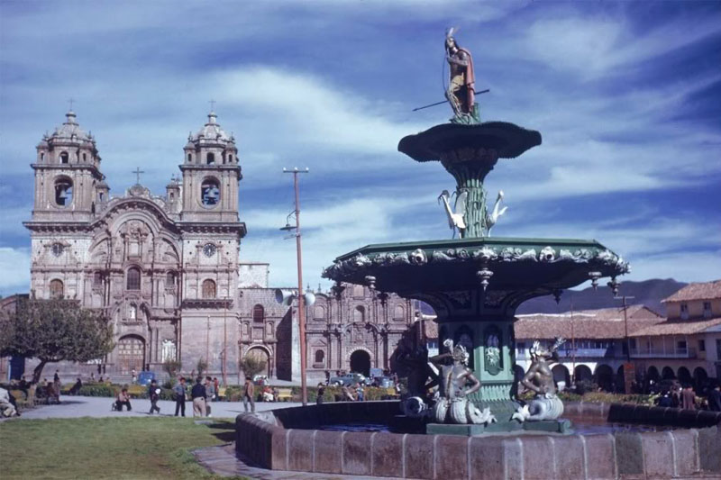 The Sioux Indian who mistakenly arrived in Cusco and rose for some time in the Plaza de Armas