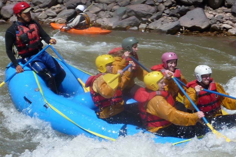 Rafting en Cusco