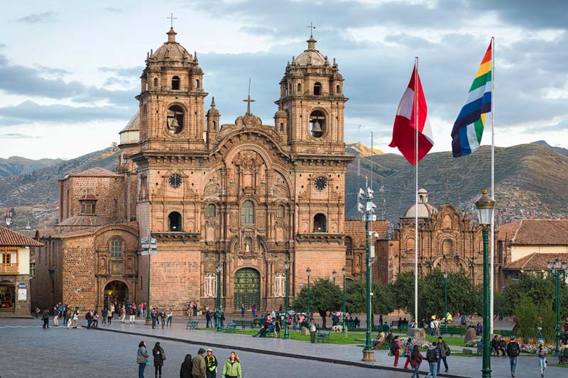 Church of the Company of Jesus in the Main Square of the Cusco