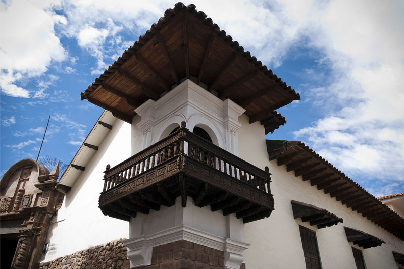 Palace of the Archbishopric in Cusco