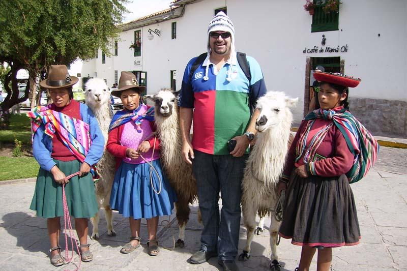 Cusco turista