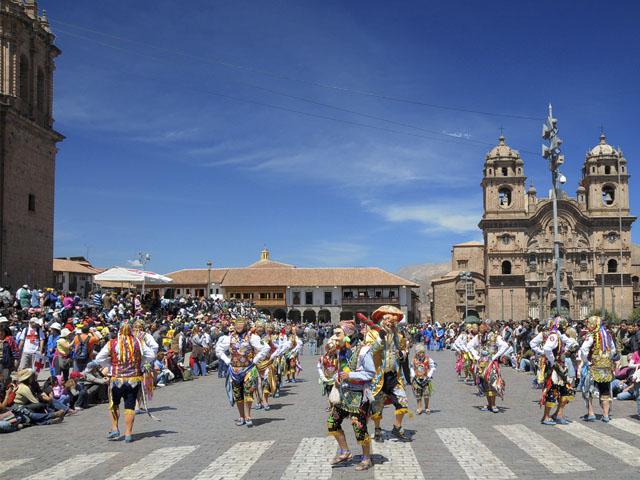 Danza típica del Cusco