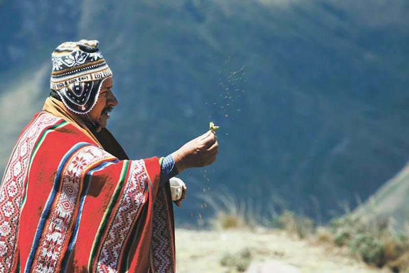 dioses inca Machu Picchu