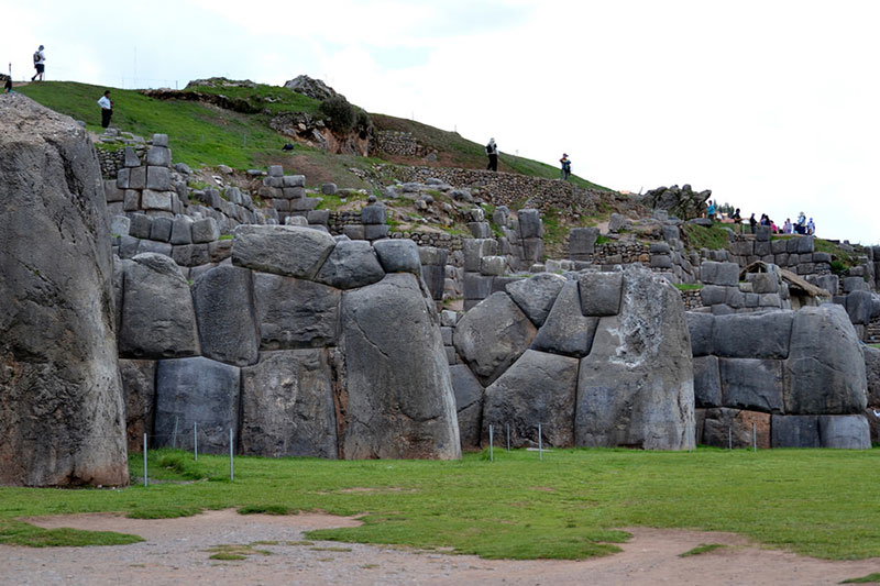 Colossal stones of Sacsayhuaman