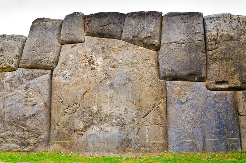 Giant stone Sacsayhuaman