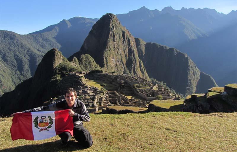 Fiestas patrias en Machu Picchu