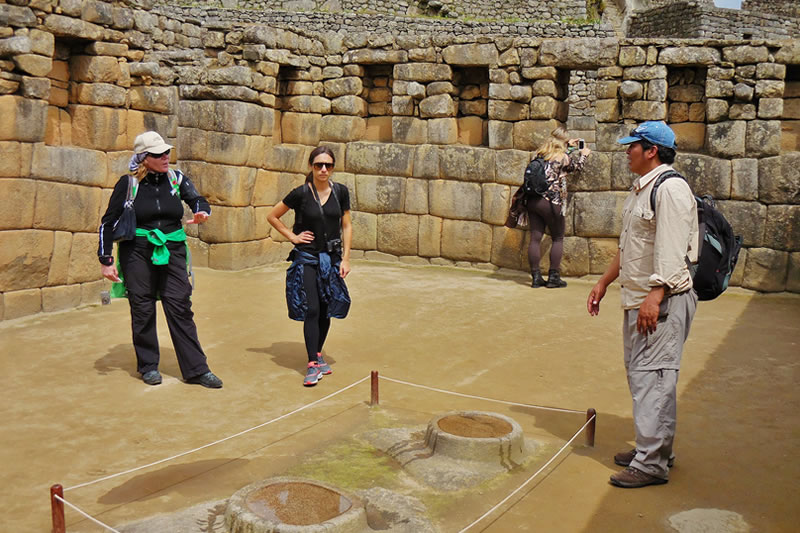 Guided in Machu Picchu