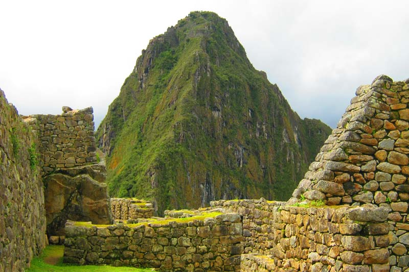 The mountain Huayna Picchu, singular and incredible