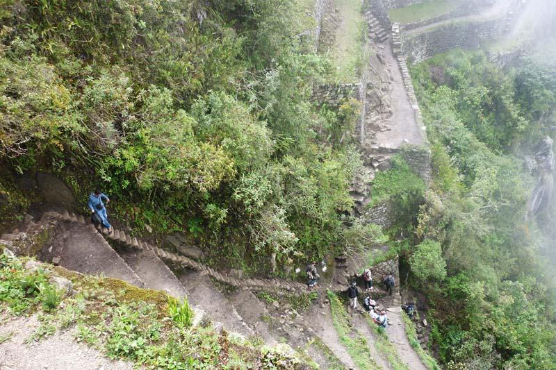 Huayna Picchu Escaleras