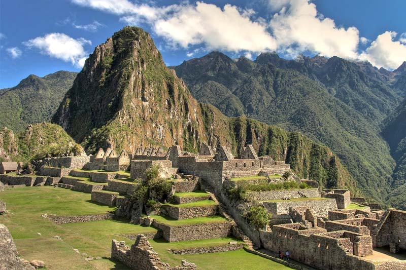 View of Huayna Picchu Mountain