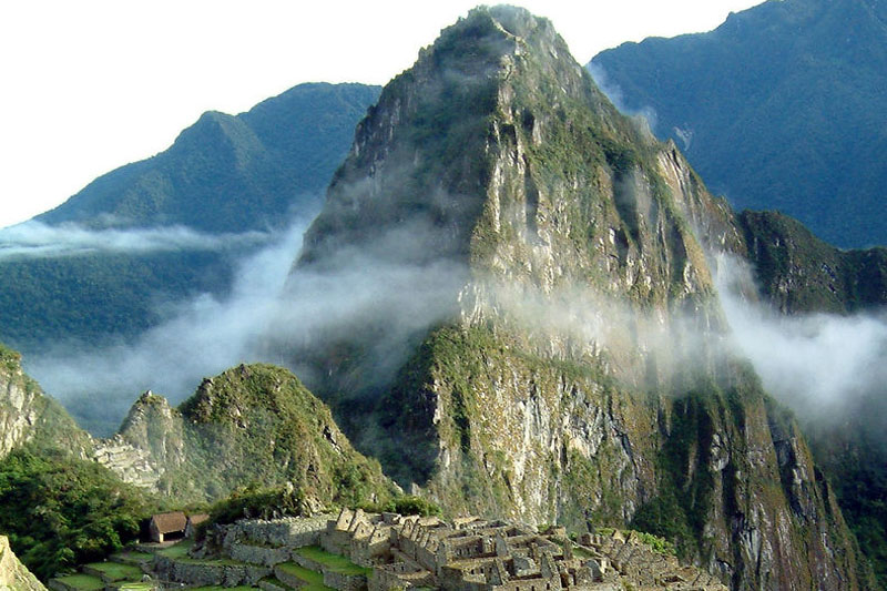 The mountain Huayna Picchu, the challenge that everyone wants to achieve
