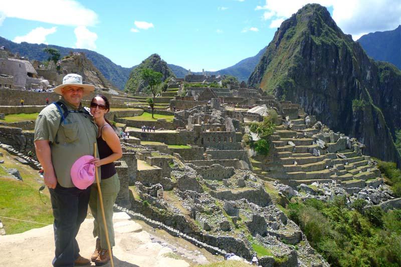 Spouses in Machu Picchu