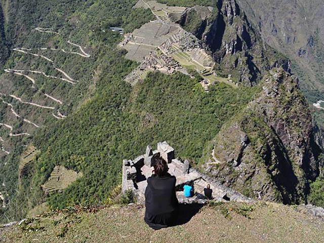 Vista de Machu Picchu desde la cima del Huayna Picchu