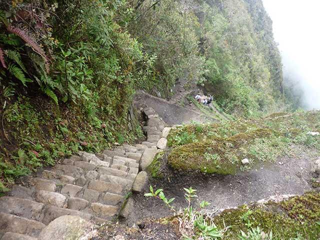 Escaleras casi verticales