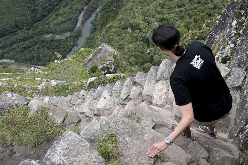 Vertigo em Huayna Picchu