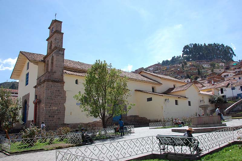 Church and square of San Blas